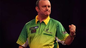 Darren Webster is favourite in betting to win Group 15 of the PDC Home Tour Group 15