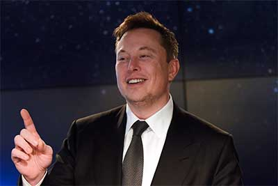 Elon Musk founded Paypal and is one of the richest men in the world.