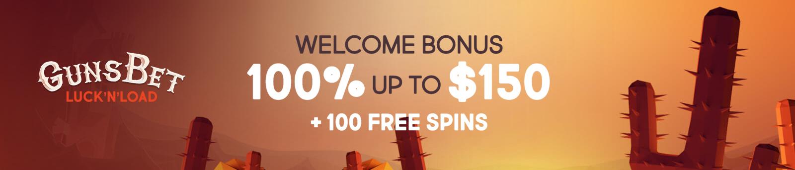 Gunsbet bonus