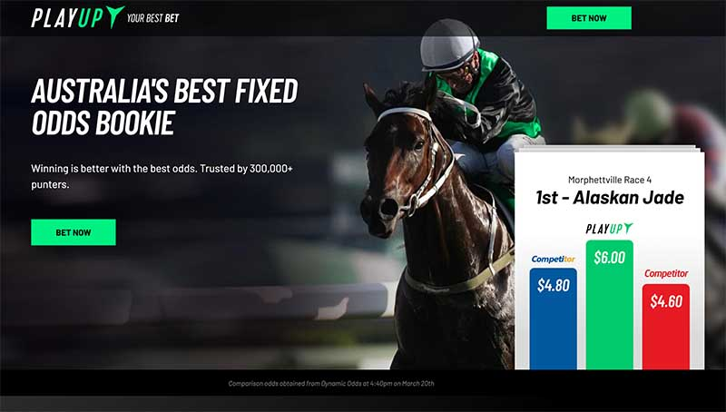 PlayUp sports betting review