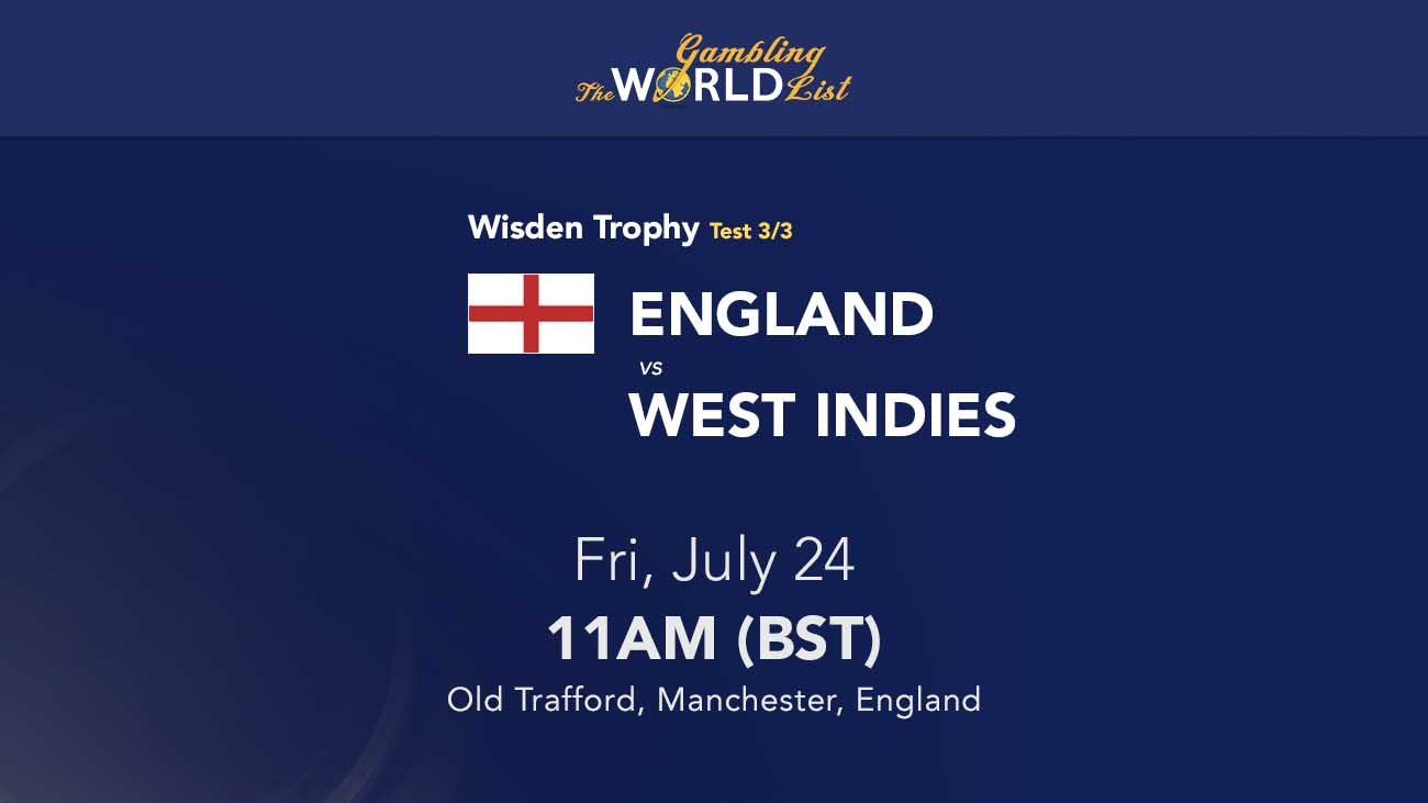 Engand v West Indies betting tips; 3rd Test Preview 2020