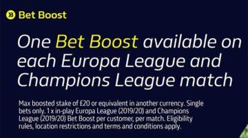 Peningkatan taruhan William Hill - Promo Liga Champions