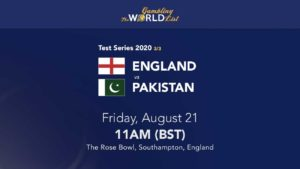 England v Pakistan tips and best bets for third Test