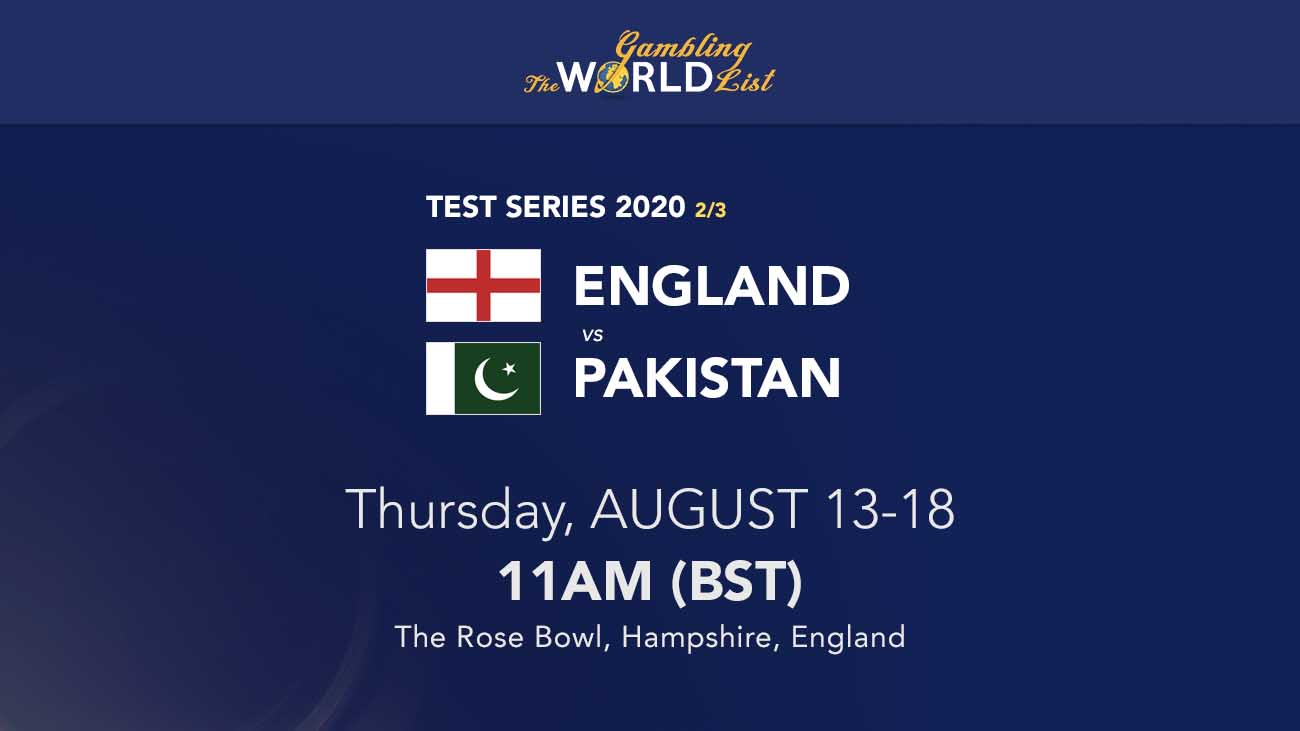 England v Pakistant 2nd test betting tips and winner prediction