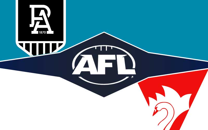 Port Adelaide v Sydney Swans betting tips, prediction and odds; AFL Rd 14 preview