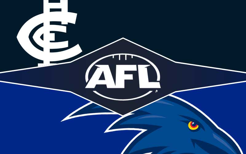Carlton v Adelaide betting tips, prediction and odds; AFL round 17 preview