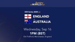 England v Australia 3rd ODI betting tips & prediction