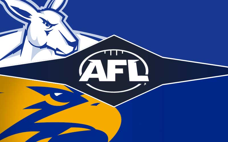 North Melbourne v West Coast betting tips, prediction and odds; AFL round 18 preview