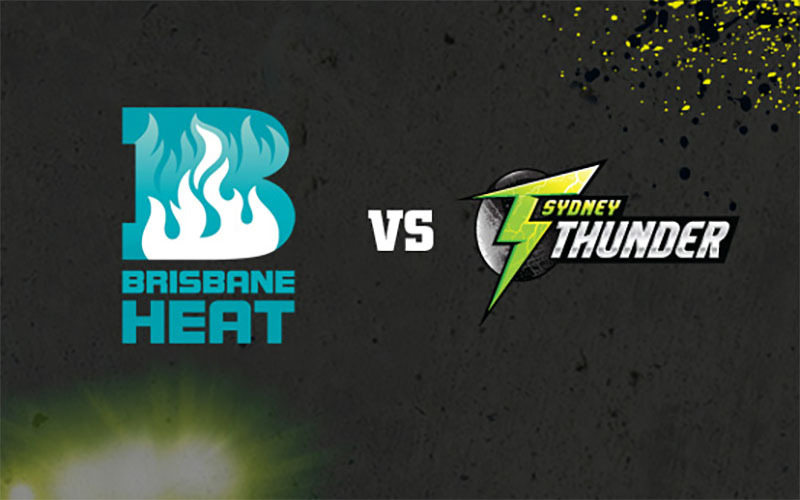 Brisbane Heat v Sydney Thunder 4 Januari