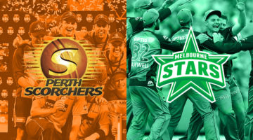 Pertandingan BBL 9: Perth Scorchers v Melbourne Stars