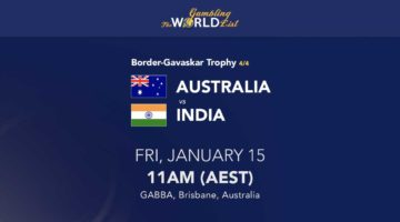 Australia v India 4th Test tips and prediction - January 15-19