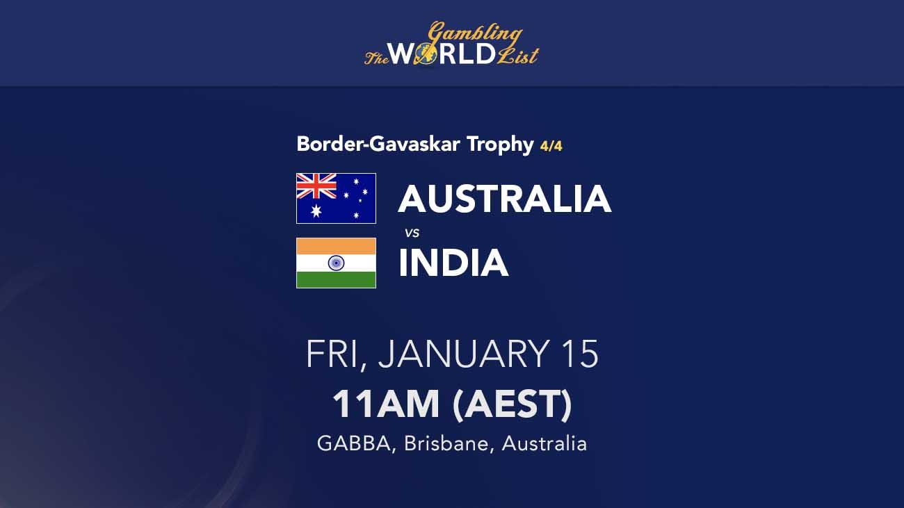 Tips dan prediksi tes Australia v India ke-4 - 15-19 Januari