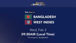 Bangladesh v West Indies tips & prediction; 1st Test Preview