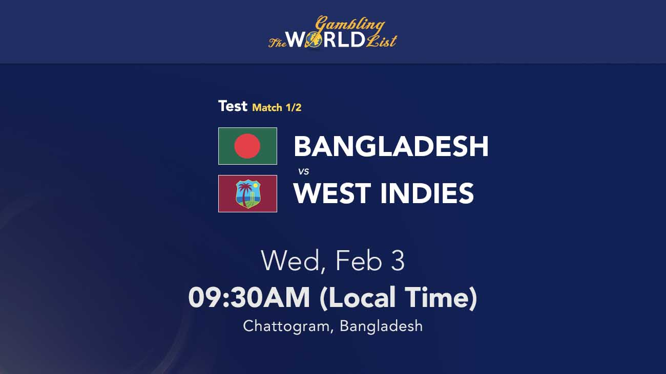 Bangladesh v West Indies tips and winner prediction - 1st Test February 2021