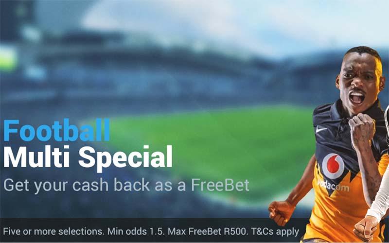 Promosi sepak bola acca di Sportingbet.co.za