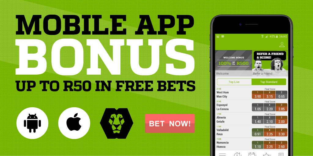 Playabets app promotion and R50 free bet