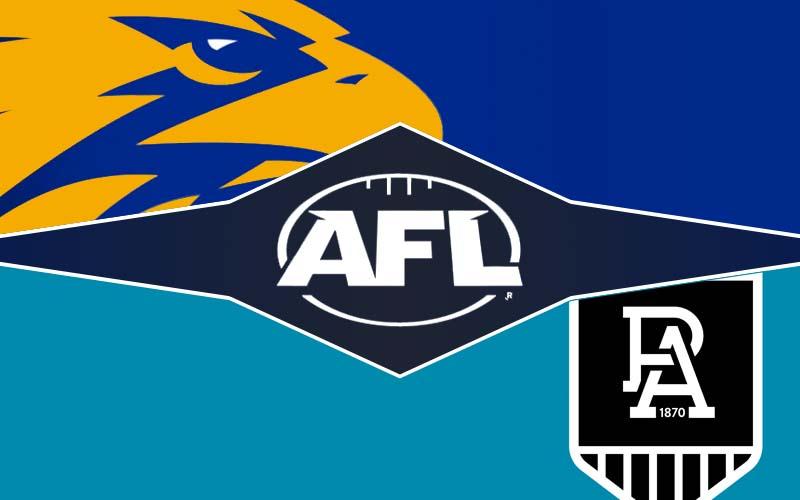 Tip, prediksi dan peluang West Coast v Port Adelaide -AFL 2021 ronde 3