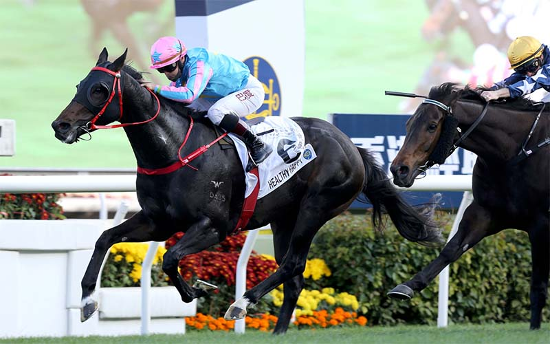 Frankie Lor believes Healthy Happy can win the Lion Rock Trophy Handicap on May 30