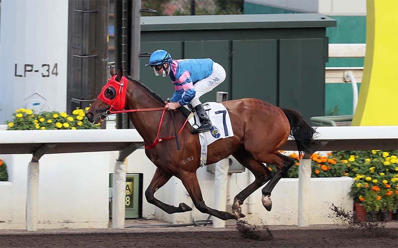 Hongkong Great broke the dirt record for the Sha Tin track on Saturday
