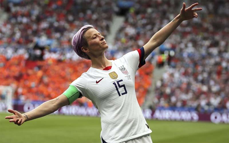 Megan Rapinoe membintangi Piala Dunia Wanita 2019