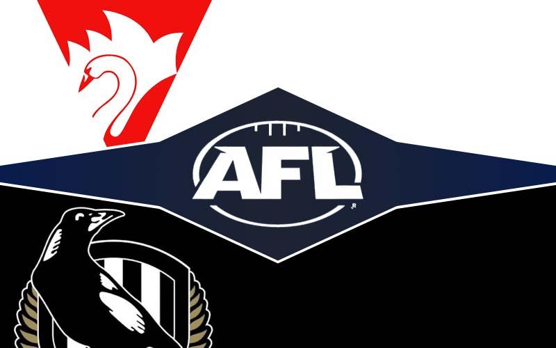 Tips, prediksi, dan pembaruan peluang taruhan Sydney v Collingwood;  Pratinjau putaran ke-9 AFL 2021