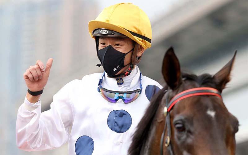 Vincent Ho bisa memenangkan balapan G1 keenamnya untuk musim balap HK
