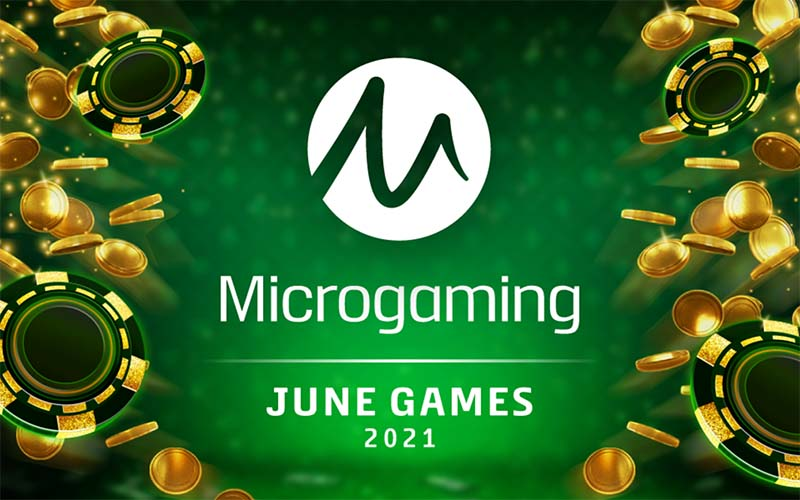 Microgaming has got many slots being released in June 2021