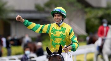 Joao Moreira will be crowned 2021 champion jockey in Hong Kong