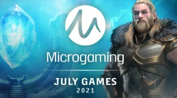 Online slots releases for July 2021 from Microgaming