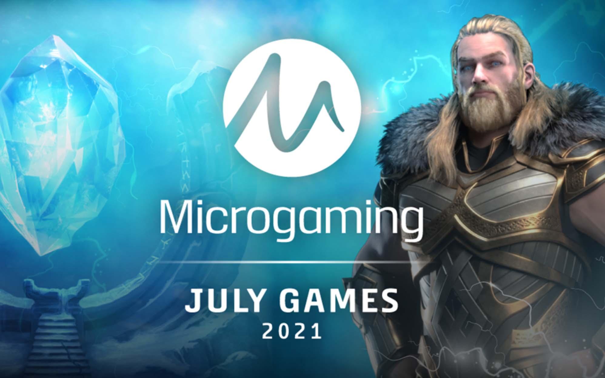 Rilis slot online untuk Juli 2021 dari Microgaming