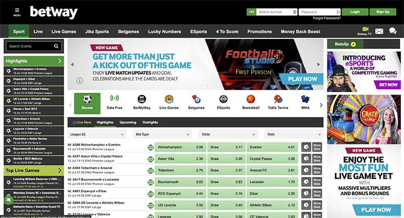 Betway South Africa sports betting review