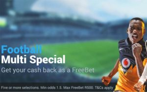 Sportingbet South Africa giving customers football multibet refund