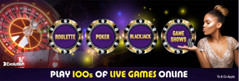 Live casino at Hollywoodbets review