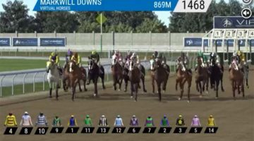 Virtual horse racing and sports has become popular in South Africa
