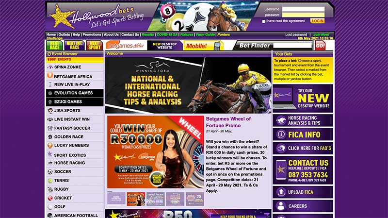 Hollywoodbets sports betting review